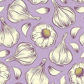 garlic - purple