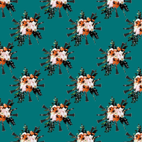 clarinet bouquet pattern