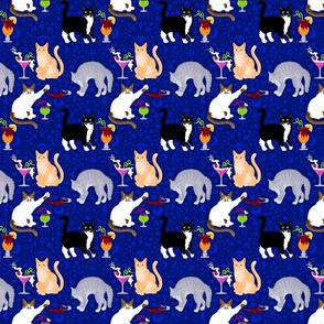 Midnight Maitai Blue (Small Scale)