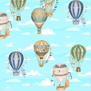 Victorian Hot Air Balloons