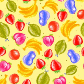 Colorful Fruits-Yellow