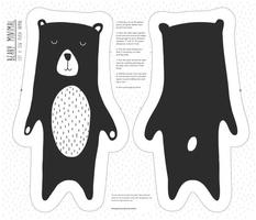 Beary Minimal Cut & Sew