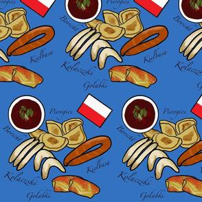 Polish Food Blue Medium