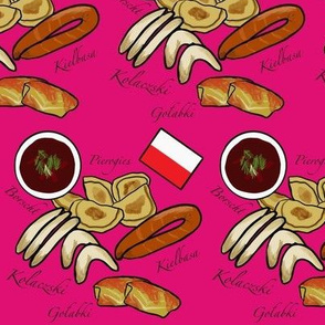Polish Food Hot Pink Mini