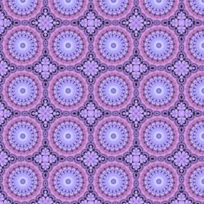 Lavender and Pink Hydrangeas 5346