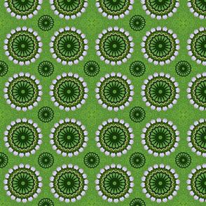 Green and Pink Pinwheels 5359B