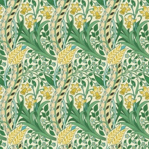 William Morris ~ Daffodil ~ Golden Natural