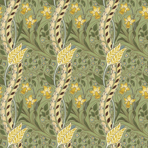William Morris ~ Daffodil ~ Original