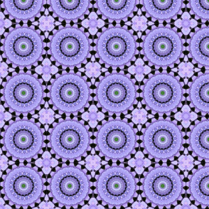 Lavender Hydrangea Pinwheels 5342