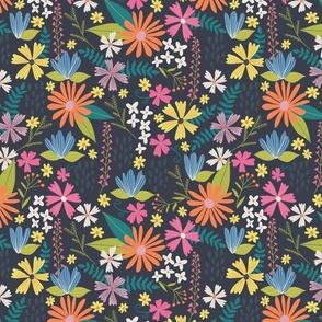 Wild Meadow Multicolor Floral