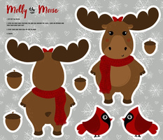 Cut and Sew Molly the Moose