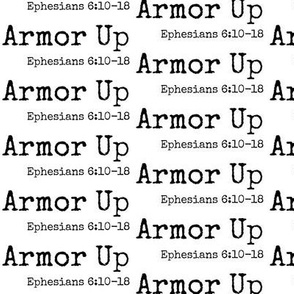 Armor Up Small Scale