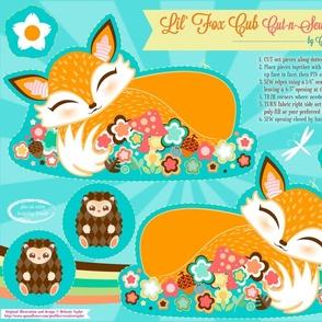 Cut N Sew Baby Fox Cub Orange