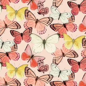 CottageFields Winged: Blush