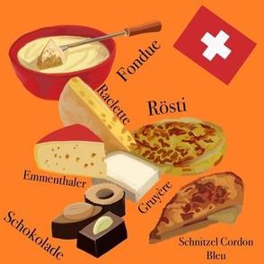 Swiss Food Orange Small