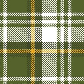 Green White Yellow Plaid