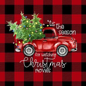 18  Inch Christmas//'Tis the Season//Plaid