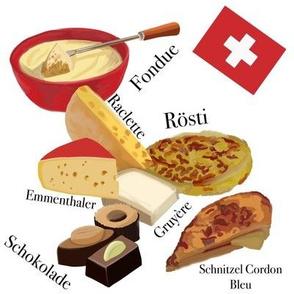 Swiss Food White Small