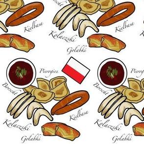 Polish Food White Mini