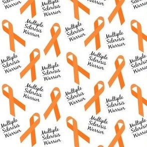Small Scale Multiple Sclerosis Warrior Ribbons