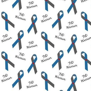 Small Scale T1D Warrior Ribbons
