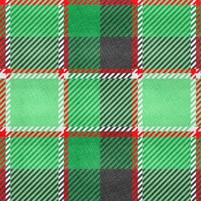 Tartan India Green