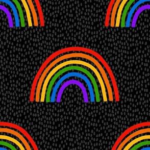 Rainbows on Black