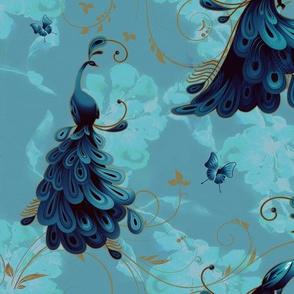 Peacock_London Blue