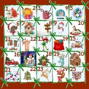 Christmas Calendar Countdown