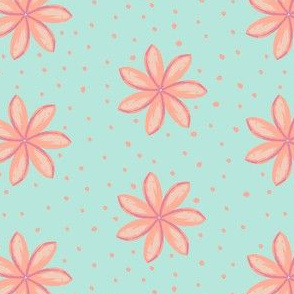 Coral Flower Power