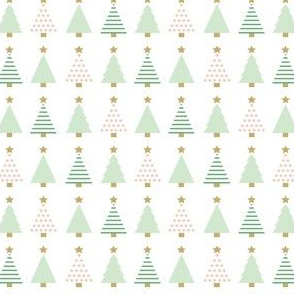 Christmas Trees Pastel_Small Scale