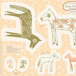 Horse_Friends Plushie_olive_300