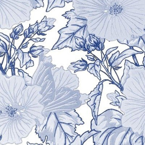 Marshmallow ~ Willow Ware Blue and White