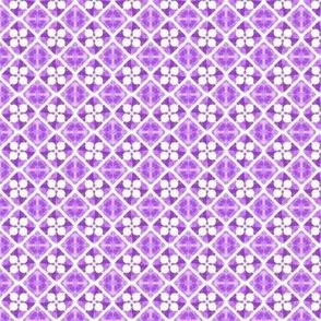 Geo Cross violet
