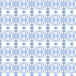 Geo Palm Blue
