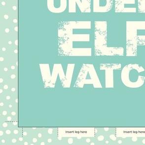 Elf Watch Wall Banner