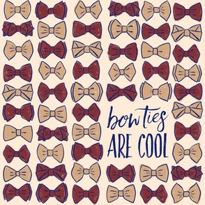 Bow Ties Are Cool - Burgundy LG