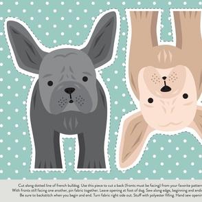 French Bulldog Cut and Sew