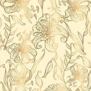 Golden Tiger Lilies