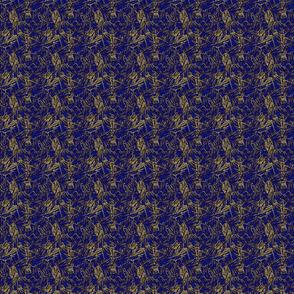 BonnyPattern virus Cb blauw