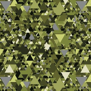 forest triangles camo
