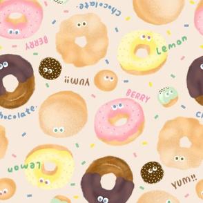 Donuts-Beige