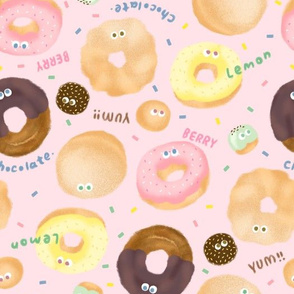 Donuts-Pink