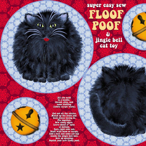 Kitty Floof Poof cut and sew