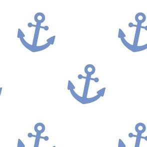 Nautical Blue Anchor
