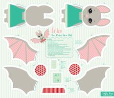 Echo Cut and Sew Bat - Coronavirus Care