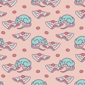 Pizza Rat SM [Pastel Pink]