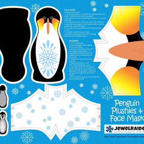 Penguin Plushies & Face Mask © Julee Wood