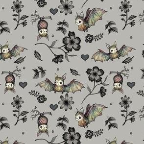 Org Bat PATTERN_SM_GREY
