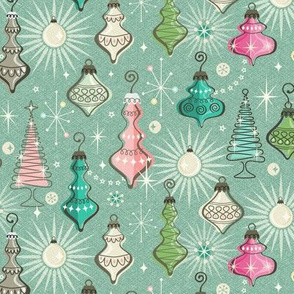 Vintage Holiday Ornaments